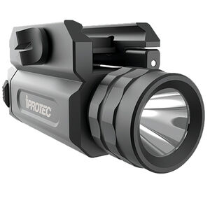 iProTec RM230 Tactical Weapon Light 230 Lumen CR123 Battery Rail Mounted Aluminum Anodized Black 6566