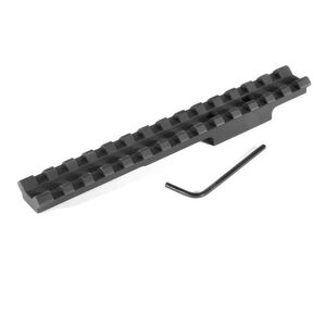 EGW Winchester 75 20 MOA Scope Mount w/ Picatinny Rail, Aluminum Matte, Black