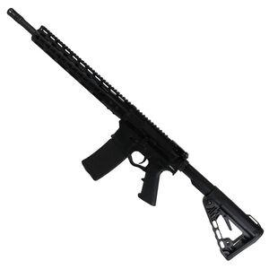 """ATI Omni Hybrid Maxx AR-15 5.56 NATO Semi Auto Rifle 16"""" Barrel 30 Rounds KeyMod Hand Guard Carbine Collapsible Stock Matte Black Finish"""