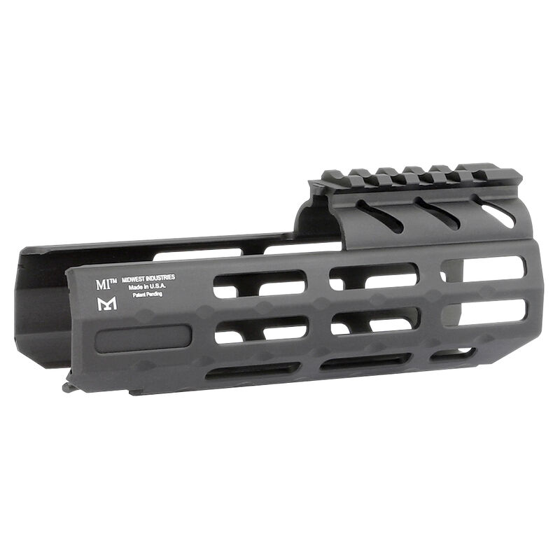 """Midwest Industries SIG Sauer MPX 6.5"""" One Piece Drop In M-LOK Compatible Hand Guard 6061 Aluminum Hard Coat Anodized Finish Matte Black"""