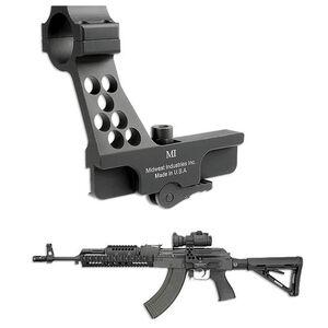 Midwest Industries AK-47 Side Rail 30mm Red Dot Mount Matte Black MI-AK-RD