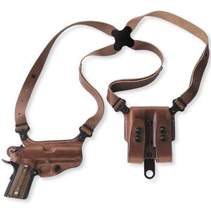 Galco Miami Classis Should Holster System Fits SIG P239 Right Hand Leather Tan