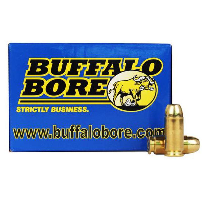 Buffalo Bore .40 S&W +P Ammunition 20 Rounds FMJ-FN 180 Grain 23C/20
