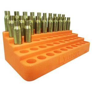 "Lyman Bleacher Loading Block 50 Case Up To .388"" Diameter Base Polymer Orange 7728085"