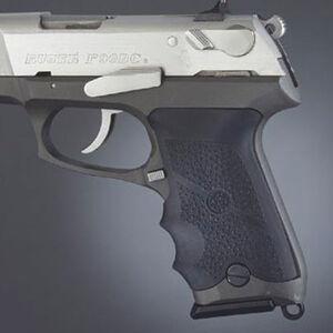 Hogue Wraparound Grip Ruger P85/89/90/91 Rubber Cobblestone Black 85000