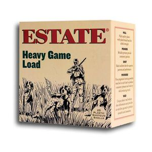 "Estate Upland Hunting 20 Ga 2.75"" #8 Lead 1oz 25 Rounds"