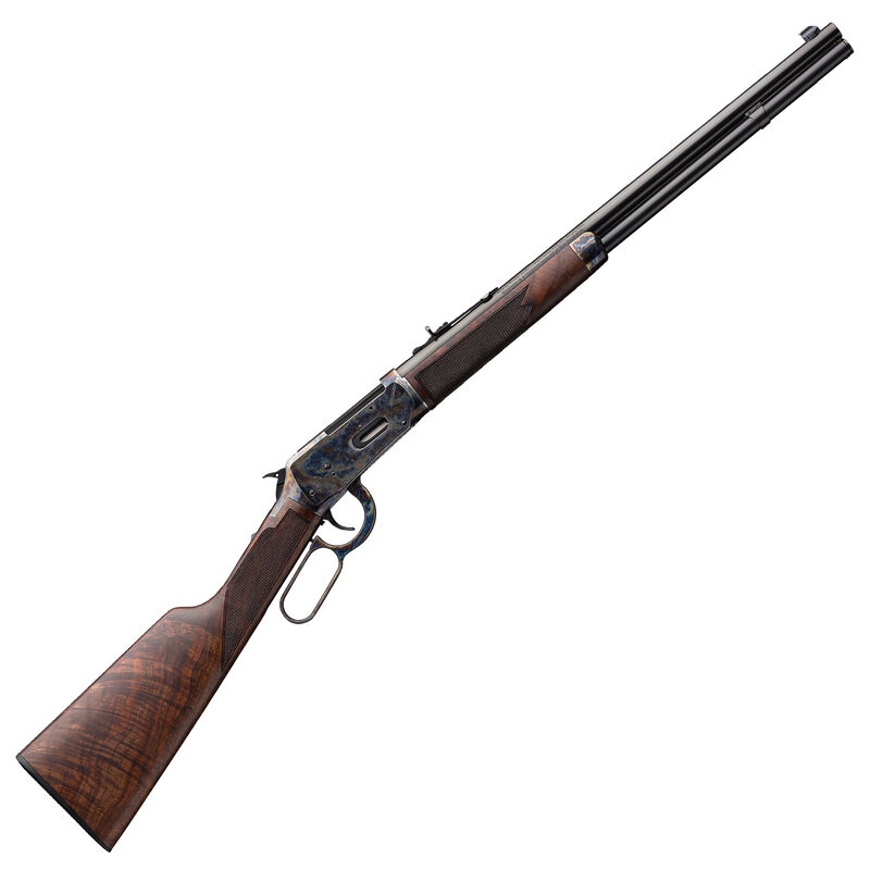 """Winchester Model 1894 Deluxe Short Rifle .38-55 Win Lever Action Rifle 20"""" Barrel 7 Rounds Walnut Stock Color Case Hardened/Gloss Blued Finish"""