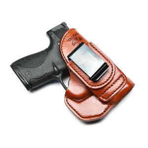 Talon Training S&W Shield Tuckable Holster Brown Right Hand No Laser
