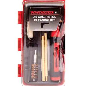 DAC Winchester .40 S&W, 10mm Caliber Pistol Compact Cleaning Kit 14 Pieces WIN40P