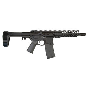 "Seekins Precision NXP8 AR-15 .300 AAC Blackout Semi Auto Pistol 8"" Match Grade Barrel 30 Rounds 7"" NOXs Free Float Rail SB Tactical Pistol Brace Matte Black"