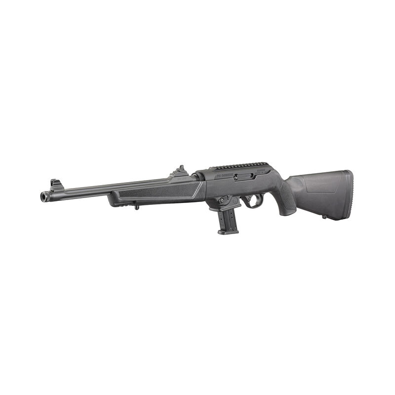 """Ruger PC Carbine 9mm Semi-auto Rifle 16.12"""" Barrel 17 Rounds Takedown Stock Black"""