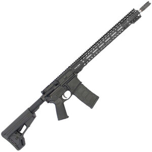 "Stag Arms STAG-15 3Gun Elite Semi Auto Rifle 5.56 NATO 18"" Stainless Steel Barrel 30 Rounds Stag Free Float M-LOK Compatible Hand Guard Magpul ACS Stock Matte Black Finish"