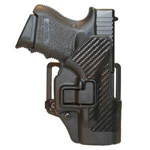 BLACKHAWK! CQC SERPA Belt Holster, Glock 29/30, Black Carbon Fiber, Right Hand