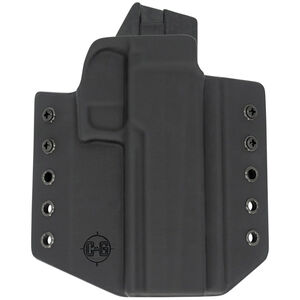 C&G Holsters Covert OWB Holster for SIG Sauer P320C Right Hand Draw Kydex Black