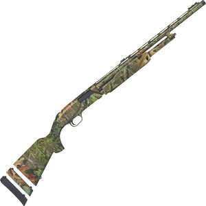 """Mossberg 500 Youth Super Bantam Turkey 20 Gauge Pump Action Shotgun 22"""" Barrel 3"""" Chamber 5 Rounds FO Sight Synthetic Stock MO Obsession Camo"""
