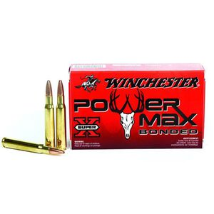 Winchester Power Max .30-30 Winchester Ammunition 20 Rounds Bonded HP 170 Grains X30303BP