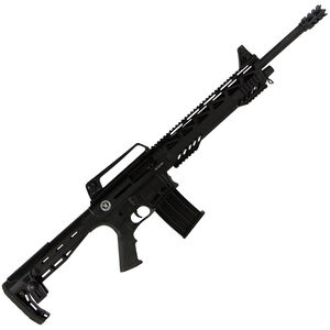 """TR Silver Eagle SE122 Tactical AR Style Semi Auto Shotgun 12 Gauge 18.5"""" Barrel 3"""" Chamber 5 Rounds Synthetic Stock Black"""