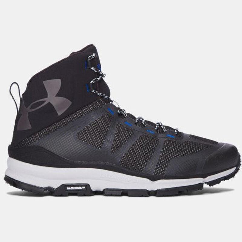 "Under Armour UA Verge Mid Hiking Boot 6"" Men's Size 10 Regular Black"
