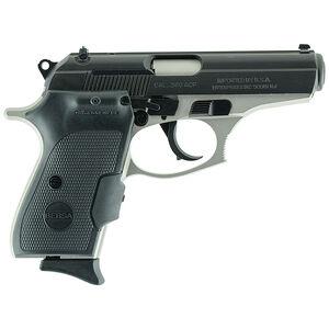"Bersa Thunder Duotone .380 ACP Semi Auto Pistol with Laser 8 Rounds 3.5"" Barrel Nickel/Black"