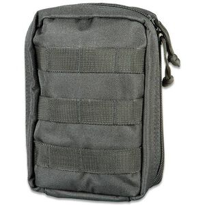 "Elite First Aid Tactical Trauma Kit, MOLLE, 8x6x3.5"" Pouch, Black"