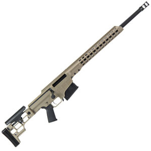 "Barrett MRAD Bolt Action Rifle 7mm Remington Magnum 24"" Barrel 10 Rounds Flat Dark Earth Cerakote Receiver"
