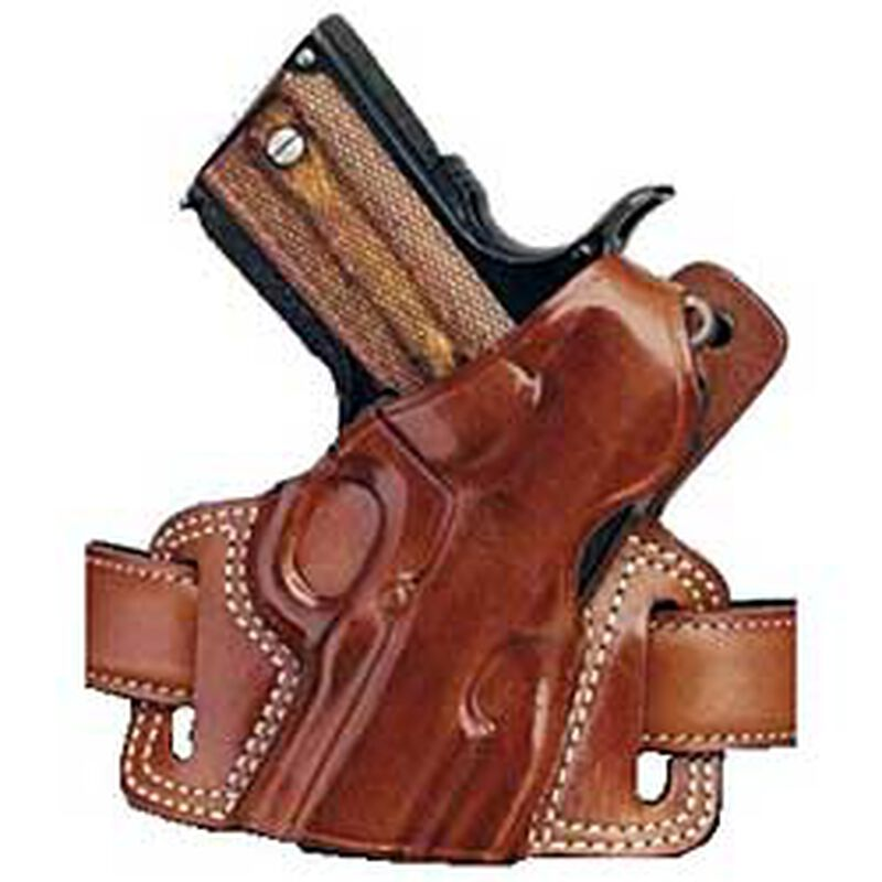 Galco Silhouette High-Ride Holster for GLOCK Right Hand Leather Tan