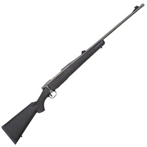 "Mossberg Patriot Synthetic .338 Win Mag Bolt Action Rifle 24"" Threaded Barrel 3 Rounds Synthetic Stock Matte Cerakote Finish"
