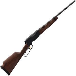 "Browning BLR LT Monte Carlo Lever Action Rifle .30-06 Spring 22"" Barrel 5 Rounds Box Magazine Black Walnut Stock Polished Blued Finish"