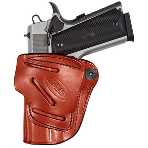 Tagua Gunleather 4 In 1 Inside the Pants Holster S&W Shield 9mm/.40 IWB Belt Clip Right Hand Plain Tan