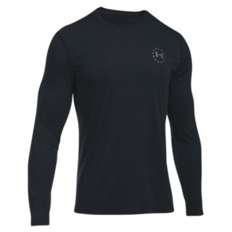 Under Armour UA Freedom Threadborne Siro Men's Long Sleeve Shirt 3XL Polyester True Gray Heather