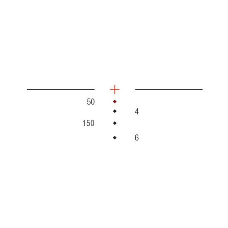 Trijicon ACOG 3.5x35 Scope Dual Illuminated Red Crosshair .300 Blackout Ballistic Reticle With TA51 Flattop Mount