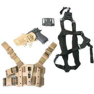 BLACKHAWK! SERPA S.T.R.I.K.E. Combo Kit Beretta 92 Series Left Hand Coyote Tan