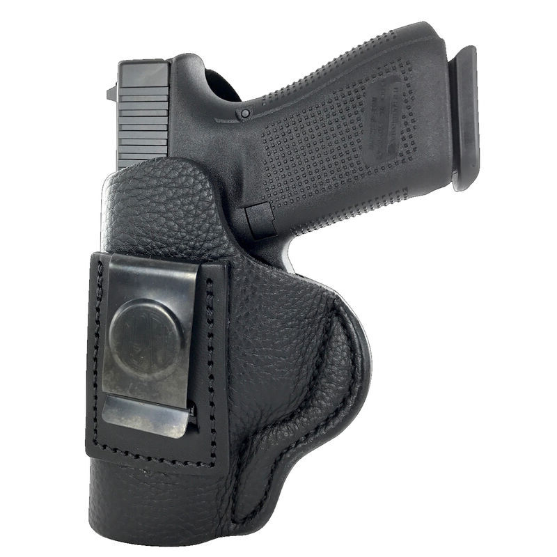1791 Gunleather Smooth SCH-4 Multi-Fit IWB Concealment Holster for Full Size Semi Auto Pistols Left Hand Draw Leather Black