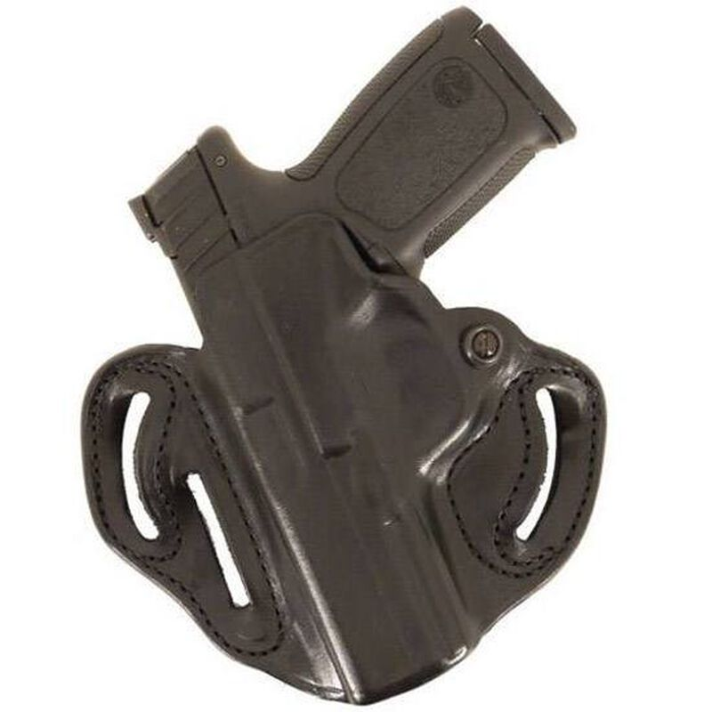 "DeSantis Speed Scabbard Belt Holster Left Hand 2.75"" S&W Governor Leather Black"