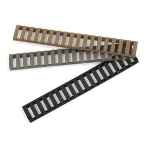 BLACKHAWK! Low Profile Rail Cover, Black, Picatinny 18 Slot