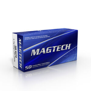 Magtech .380 ACP Ammunition JHP 95 Grains