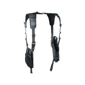 UTG Law Enforcement Vertical Shoulder Holster, Black
