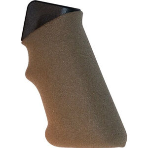 EZR Sport AR15/AR10 Rifle Grip with Finger Index and Grip Sleeve Polymer FDE