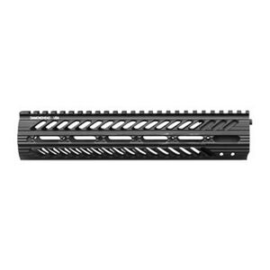 "Diamondhead VRS X Free Floating Handguard 10.5"" Threaded Rail Aluminum Black 2111"