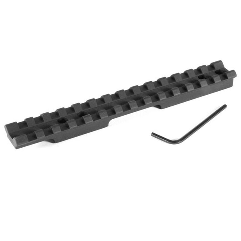 "EGW Savage Mark II Picatinny Rail Scope Mount 1-3/8"" Ejection Port 0 MOA Aluminum Matte Black 41500"