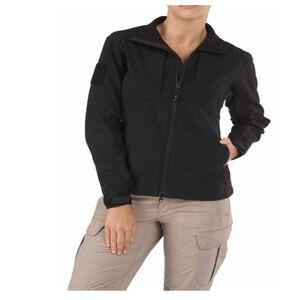 5.11 Tactical Women's Sierra Softshell Jacket Small Black 38068