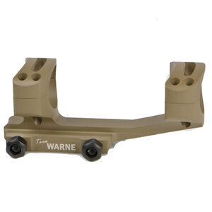 Warne AR-15 Gen 2 Extended XSKEL 30mm One Piece Scope Mount FDE XSKEL30DE