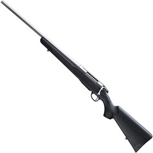 "Tikka T3x Lite Left Hand Bolt Action Rifle .22-250 Rem 22.4"" Barrel 3 Rounds Black Synthetic Stock Stainless Steel"