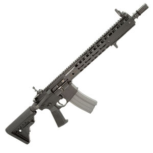 "Griffin Armament MK1 Patrol 223 Wylde AR-15 Semi Auto Rifle 14.5"" Barrel 30 Rounds with Collapsible Stock Black"