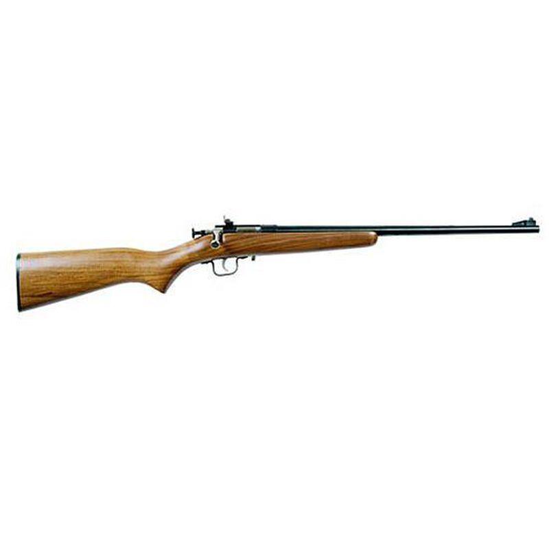 "Crickett Model 238 Bolt-Action Rifle .22 Long Rifle 16.125"" Barrel Single-Shot Wood Stock Stainless Steel Barrel"
