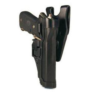 BLACKHAWK! SERPA Level 2 Duty Belt Holster Right Hand Glock 17/19/22/23/ Carbon Fiber Black