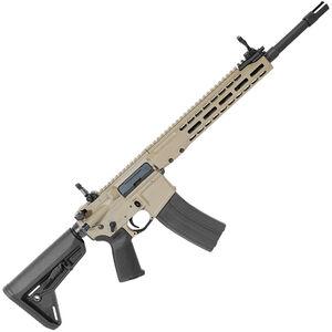 "Barrett REC7 AR-15 Semi Auto Rifle 6.8 SPC 16"" Barrel 20 Round Magazine Gas Piston System Enhanced M-LOK Hand Guard 6-Position Stock Cerakote FDE Finish"