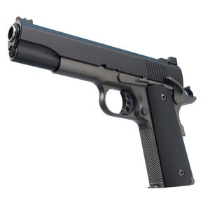 """Ed Brown 18 Special Forces Semi Auto Pistol .45 ACP 5"""" Barrel 7 Rounds Fiber Optic Front/U-Notch Rear Sights Chainlink III Treatment Stealth Grey Finish"""