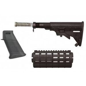 TAPCO INTRAFUSE AR-15 Stock Set Commercial Polymer Black ZSTK09161BLK