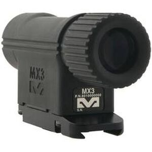 Mako Group 3X Magnifier for Reflex and Red Dot Sights Picatinny Rail Attachment Black MEPRO-MX3